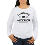 Anderson Family Thanksgiving Long Sleeve T-Shirt