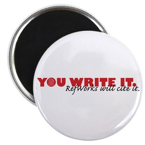 You Write It. We'll Cite It. 2.25 Magnet 100 pa  2.25 Magnet 100 pack by CafePress
