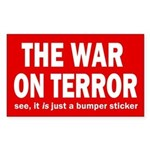 The War on Terror Bumper Sticker