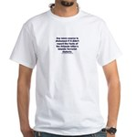 Honest News says Islamic White T-Shirt