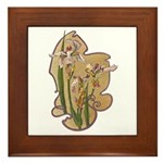 Irises Plaque