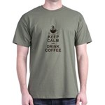 Calm And Caffeinated T-Shirt