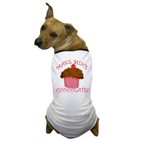 Chocolate Cupcake Dog T-Shirt