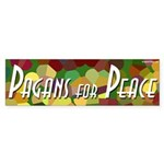 Pagans for Peace bumper sticker