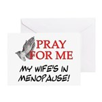 Wife In Menopause Greeting Card