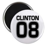 Clinton 08 campaign fridge magnet