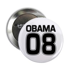 Obama 08 Campaign Pinback Button