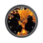 Firefighter clocks and personalized wall clocks