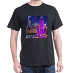 Giant Purple Mushroom Sculpture T-Shirt