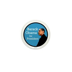 Ten Barack Obama for President Pins