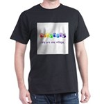 We Are One Village Rainbow Gifts T-Shirt