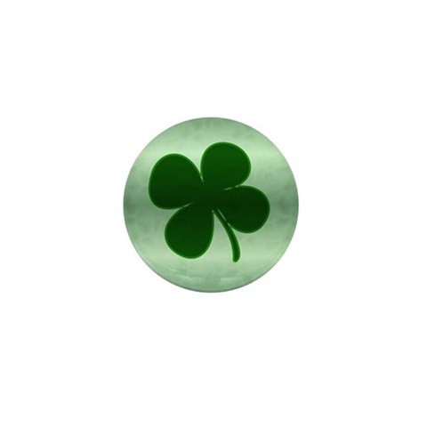4 Leaf Clover  Irish Mini Button 100 pack by CafePress