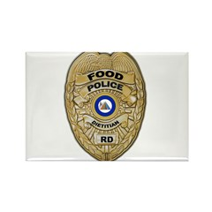 Food  Police Rectangle Magnet (10 pack)