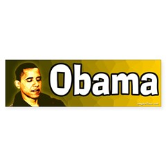 Obama sunrise bumper sticker