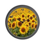Sun flower clocks personalized for your home or office!  Custom clocks with floral themes, jobs and occupations, cat lovers gifts, ladybug and panda personalized gift clocks!  Browse to visit our collections.....
