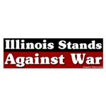 Illinois Anti-war Bumper Sticker