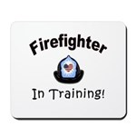 Firefighter In Training Mousepad