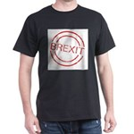 Brexit Red Rubber Ink Stamp T-Shirt