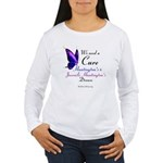 We Need A Cure - Women's Long Sleeve T-Shirt