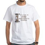 Time To Cure Hd - Hourglass - White T-Shirt