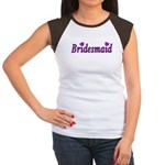 Bridesmaid Women's Cap Sleeve T-Shirt