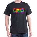 GAY CHRISTMAS BALLS ART T-Shirt