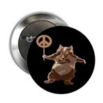 Peace Hamster Button (10 pack)