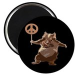 Peace Hamster (Magnet)