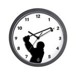 Golf Pro Wall Clock