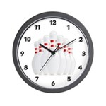 Bowling Team Wall Clock