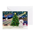 CHRISTMAS MAGIC& Bichon Frise #2