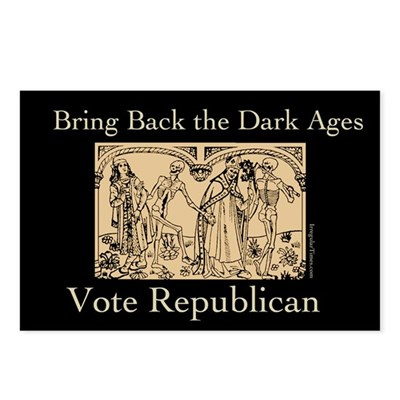 Republican Dark Ages Postcards (8 pack)