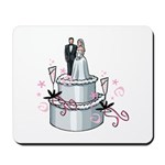 New wedding cake with bride and groom design for the bride and groom, bridesmaids, maid and matron of honor, best man and the whole wedding party! Choose T-shirts, personalized totes, hoodies & gifts