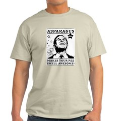 George Bush Asparagus Pee Ash Grey T-Shirt