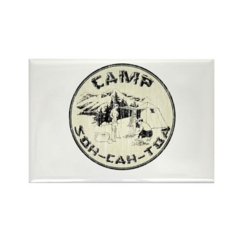Camp Soh Cah Toa Rectangle Magnet (10 pack) | Gifts For A Geek | Geek T-Shirts