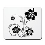 Personalized gift mouse pads with custom flower designs! Choose from sunflowers, roses, daisies and beautiful plant and flower theme designs! Matching gift clocks, mugs and tote bags available!