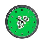 Clocks Personalized with flower themes!  Wall Clocks with new and floral theme designs that are unique and inexpensive! Decorate your home or office with our flower theme personalized wall clocks!