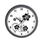 Wall clocks to decorate your home and office with flowers include floral theme t-shirts, fun home decor flower clocks, mugs, keepsake boxes and mousepads. Don't miss our personalized floral theme tote bags!
