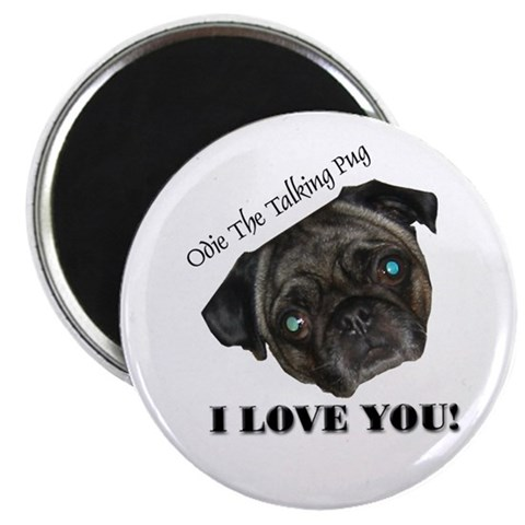 2.25 Odie Face Magnet 10 pack Cute 2.25 Magnet 10 pack by CafePress