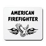 Firefighter mousepads with American patriotic themes are great firefighter gifts! Decorate your firefighter home or fire station with our firefighter theme mouse pads! Click to see American Firefighter collection.....