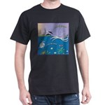 100% Green Seascape T-Shirt