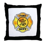 Firefighting theme logos for firefighters gift ideas including throw pillows, mouse pads, tote bags, t-shirts, tee's for firemen and female firefighters, coffee and travel mugs.  Fire department theme gifts are great personalized presents.