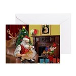 SANTA AT HOMEWith Welsh Corgi (7b)