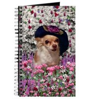 Chi Chi in Flowers Journal