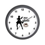 Coffee time with our wall clocks and gifts for coffee lovers