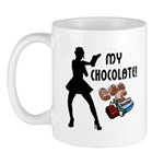 Sexy new funny t-shirts and gifts for chocolate lovers! Check out our chocolate theme t-shirts, sweats, gift clocks, mugs, mousepads and tote bags!