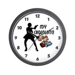 My Chocolate Wall Clock Sexy new funny t-shirts and gifts for chocolate lovers! Check out our chocolate theme t-shirts, sweats, gift clocks, mugs, mousepads and tote bags!