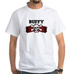 buffy is a pirate White T-Shirt