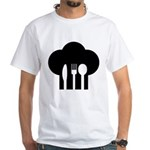 Chef hat fork knife spoon T-Shirt