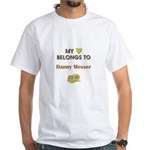 DANNY MESSER White T-Shirt